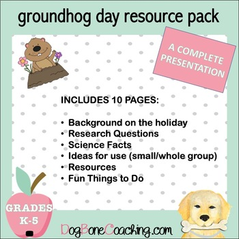Groundhog Day Resource Pack !