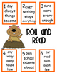 Groundhog Day Roll and Read for Reading Street Gr. 1 Book 3