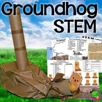 Groundhog Day STEM - Animals in Winter