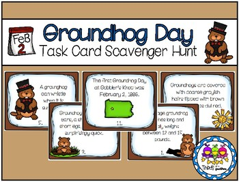 Groundhog Day Scavenger Hunt