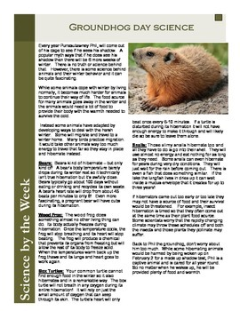 Groundhog Day Science