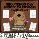 Groundhog Day Sequencing Numbers 1's, 2's, 5's 10's For Ki