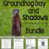 Groundhog Day & Shadows Bundle (Interactive PowerPoint, Pr