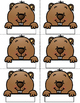 Groundhog Day Sight Word Center *EDITABLE*
