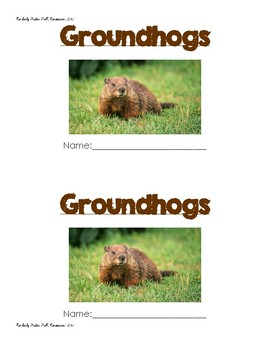 "Groundhog Day Sight Word ""is & and"" Resource!"