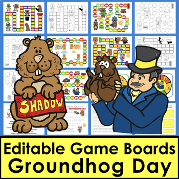Groundhog Day Activities: Sight Word Games - First 106 Dolch