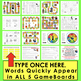Groundhog Day Sight Word Games EDITABLE