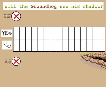 Groundhog Day SmartBoard Activities for Primary Grades