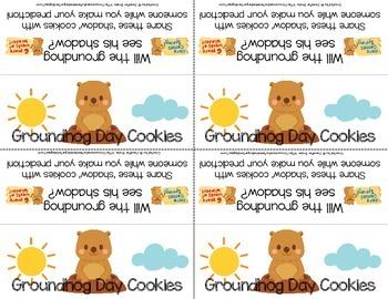 Groundhog Day Snack Tag {FREEBIE}