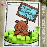 Groundhog Day Speech Therapy Craft {articulation & language}