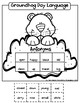 Groundhog Day Speech and Language Worksheets