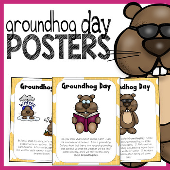 Groundhog Day Story Posters