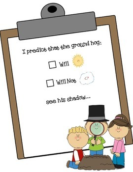 Groundhog Day Student Journal and Science Discovery: So Cute!