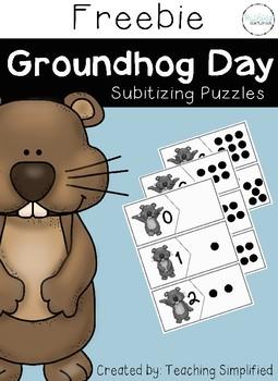 Groundhog Day Subitizing