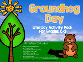 Groundhog Day! PLUS Substitute Groundhog book activities!!