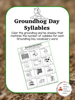 Groundhog Day Syllables