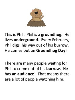 Groundhog Day TPT