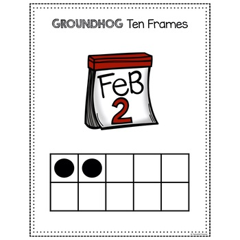 Groundhog Day Math, Ten Frames 11-20