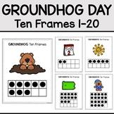 Groundhog Day Math, Ten Frames 1-20