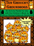 Groundhog's Day Activities: Ten Grouchy Groundhogs Activity Packet