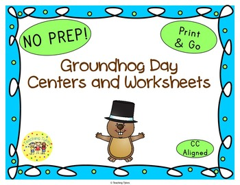 Groundhog Day Worksheets Activities Games Printables and More