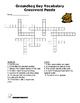 Groundhog Day Vocabulary Crossword Puzzle