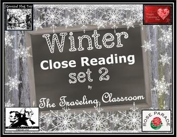 Winter Close Reading Set 2