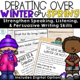 Groundhog Day Writing Opinion   Debate Templates and Activ