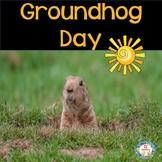 Groundhog Day Activities With Sight Words ~ Kindergarten