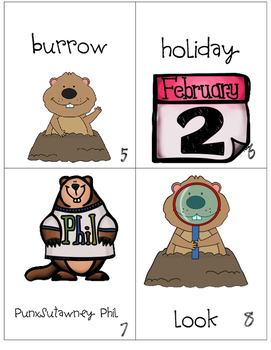 Groundhog Day Word Hunt