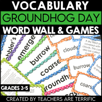 Groundhog Day Vocabulary