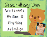 Groundhog Day Worksheets and Graphing Activity