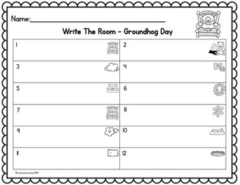 Groundhog Day Kindergarten