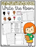 Groundhog Day Write the Room ~ Differentiated
