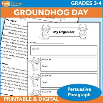 Groundhog Day Persuasive Writing