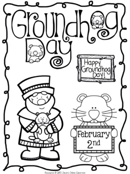 Groundhog Day Writing Prompts {Narrative Writing, Informative & Opinion Writing}