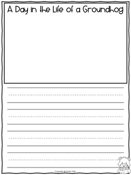 Groundhog Day Writing Activities- Writing Prompts and Graphic Organizers