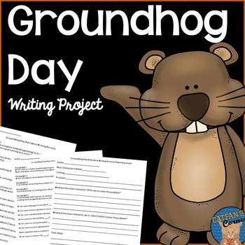 Groundhog Day Writing Activity