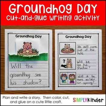 Groundhog Day Craft Story