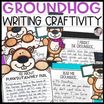 Groundhog Day Writing Craftivity