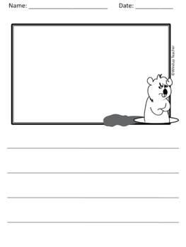 Groundhog Day Writing Paper