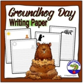 Groundhog day writing paper