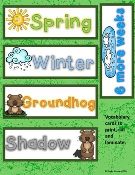 Groundhog Day Writing Prompt, Survey, and Page Topper