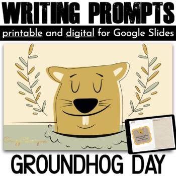 Groundhog Day Writing Prompts {36 cards}