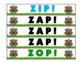 Groundhog Day ZAP! Principal Parts of Irregular Verbs