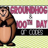 Groundhog Day and 100th Day QR Code Read Alouds