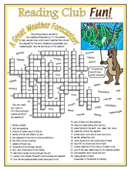 Groundhog Day and Weather Crossword Puzzle