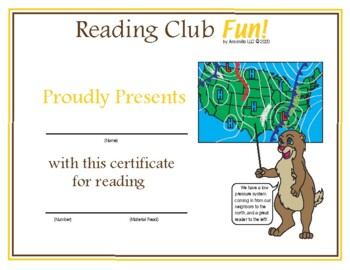 Groundhog Day and Weather Reading Log and Certificate Set