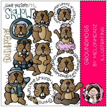 Melonheadz: Groundhog Day clip art