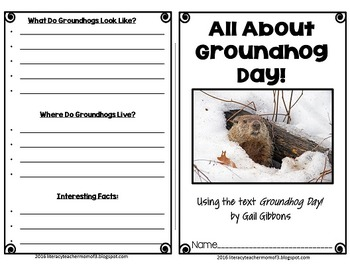 Groundhog Day by Gail Gibbons